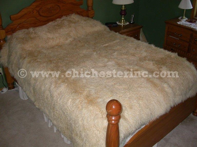Tibet Lamb Blankets And Tibetan Lambskin Throws Comforter Sheepskin Comforters