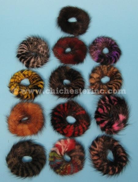 Fur Scrunchies Or Fur Hair Ties Or Real Fur Scrunchies Or