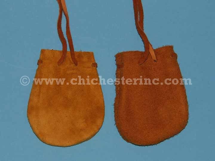 Deer Suede Medicine Bags