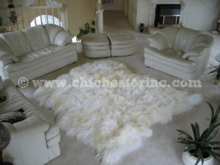 animal fur rugs