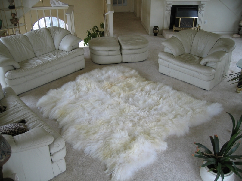 Icelandic Sheepskin Rugs Or Icelandic Sheepskin Hides Or