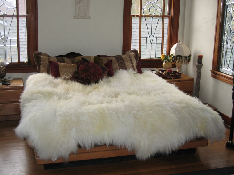 Icelandic Sheepskin Rugs or Icelandic Sheepskin Hides or Icerugs